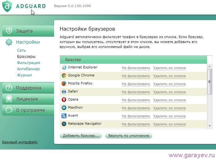 Скачать программу AdGuard бесплатно
