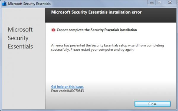 Windows Essential Security скачать