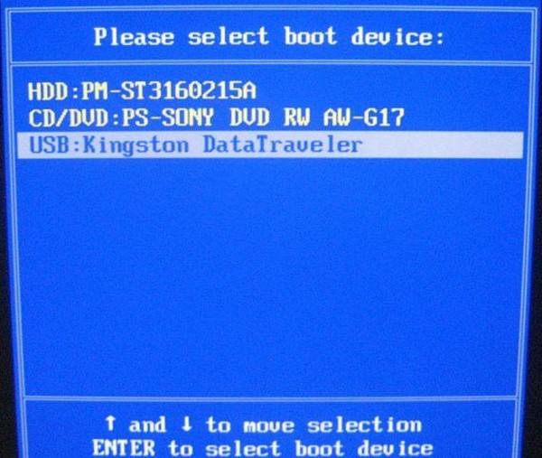 установка windows 8 c флешки