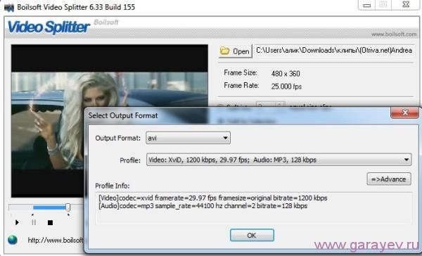 video splitter скачать программу