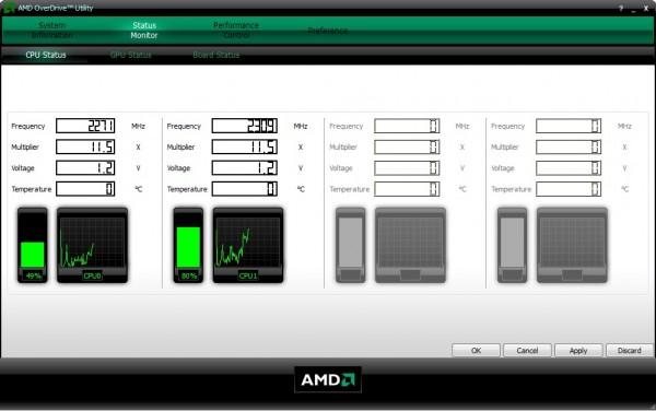 AMD OverDrive разгон видеокарты