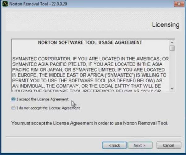 Norton Removal Tool.exe скачать