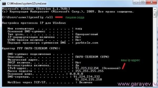 ip адреса для локальных сетей