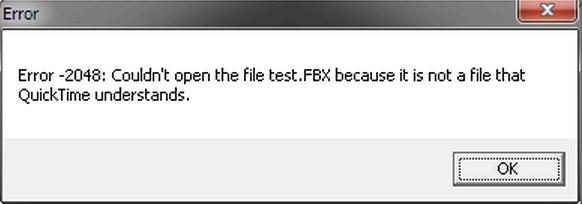 Нужно скачать для QuickTime Codec Pack Windows 7