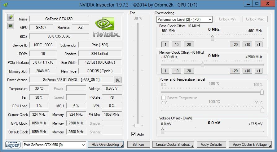 Скачать программу для Охлаждения видеокарты Nvidia