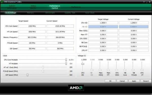 AMD OverDrive как разогнать процессор