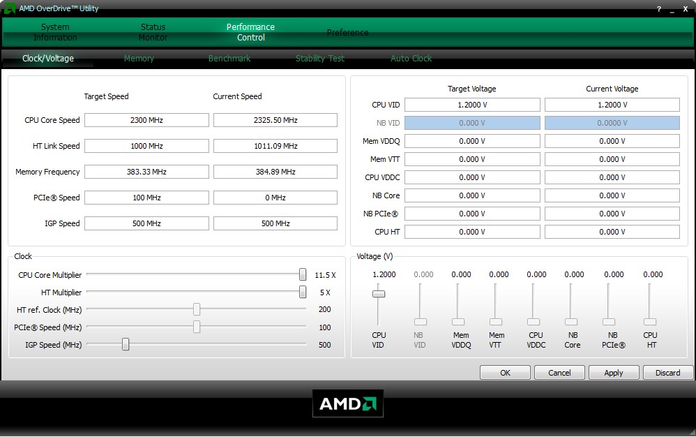 Программа AMD OverDrive разгон процессора | Проблемы с